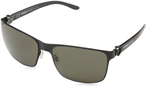 Momo Design Herren Sonnenbrille Smd011 Braun (SEMI-MATT BLACK) Einheitsgröße