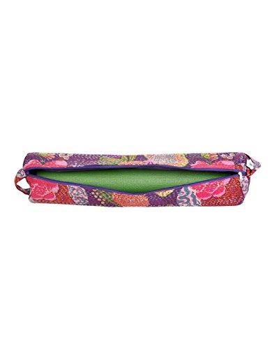 Attraente cotone Sling Bag Ricamato Elephant per le donne By Rajrang Violet & Dark Pink