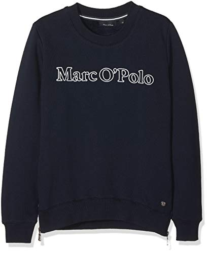Marc O' Polo Kids Mädchen 1/1 Arm Sweatshirt, Blau (Night Sky 3143), 122