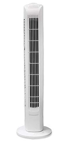 Interior TF35 Säulenventilator Turmventilator 78cm, 3 Stufen Standventilator, Oszillierender Boden Ventilator, Lautstärke max. 49dBA, 45 W