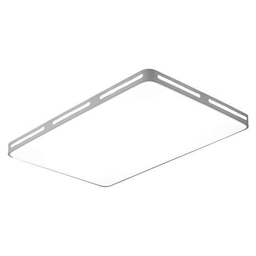 Luce soggiorno moderno minimalista luce rotonda telecomando intelligente camera da letto quadrata plafoniera bianca 60CM