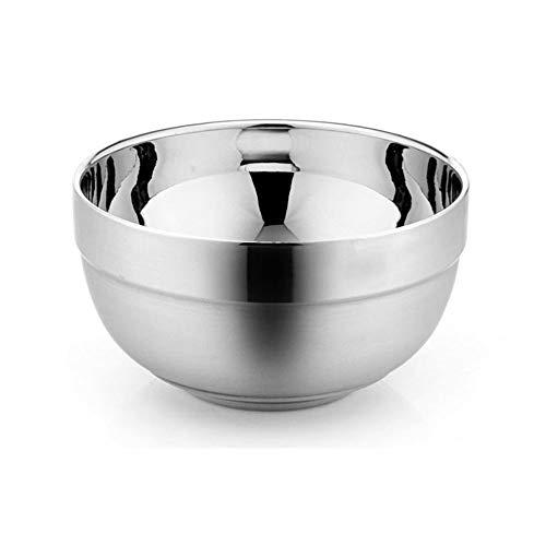 DEI QI Bols en acier inoxydable Bols gigognes à fini miroir, 5 tailles (Size : 16cm)