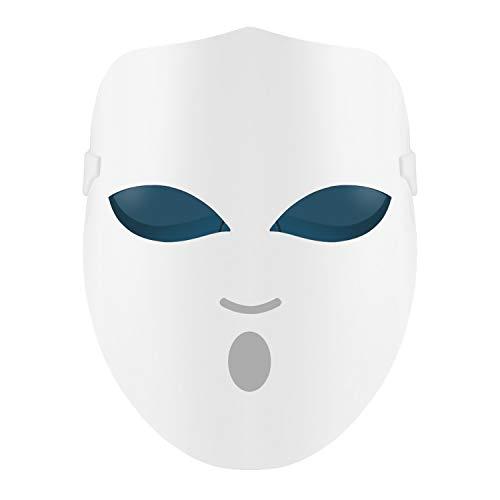 REAKOO LED masque de luminothérapie activent le traitement de la peau par des taches d'acné au...