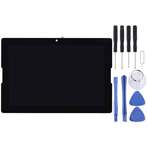 Zhangli Handy-LCD-Bildschirm LCD Screen und Digitizer Full Assembly für Lenovo A10-70 / A7600 (Schwarz) LCD Bildschirm (Farbe : Black)