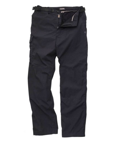 Craghoppers Winter Lined Kiwi Trousers - Colour: Navy, Size: 40, Length: Regular