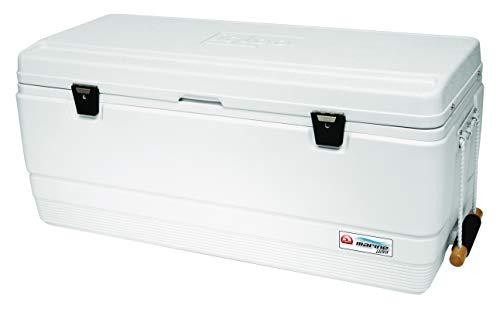 Igloo Coolers Marine Ultra Nevera Portátil, Blanco, 121 l