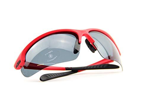 KTM Sonnenbrille Factory Line Rot Polarisiert inkl. Key Holder (10-113)
