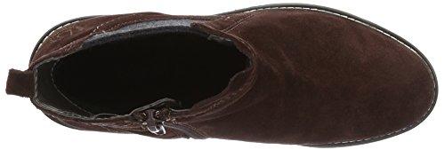 Bugatti Damen V78333 Kurzschaft Stiefel Rot (burgund 329)