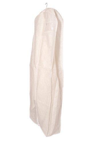 Deluxe PP Weiß Kleidersack Kleiderhülle Schutzhülle für Brautkleid Abendkleid Hochzeitskleid...