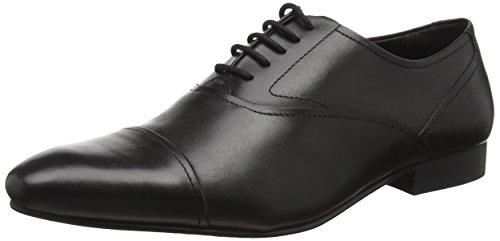 Kurt Geiger London Kenwall, Zapatos de Cordones Oxford para Hombre, Schwarz (Black), 43 EU