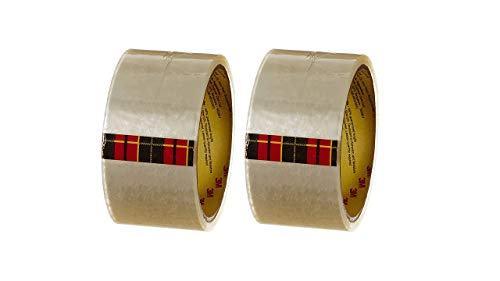 3M Scotch Packing Tape 48mm*50m White(Pack of 2)