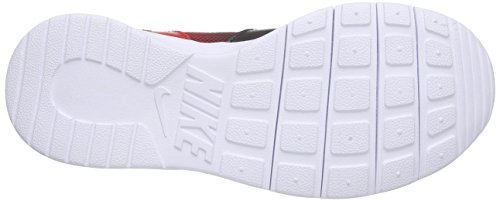 Nike Unisex-Kinder Kaishi Print (Gs) Low-Top Schwarz (002 BLACK/WHITE-UNIVERSITY RED)