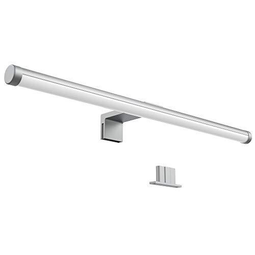 Lampada da specchio led, lampada per bagno, larghezza 40 cm, luce per trucco, illuminazione armadietto, luce calda, include led integrati 6w 230 v ip23