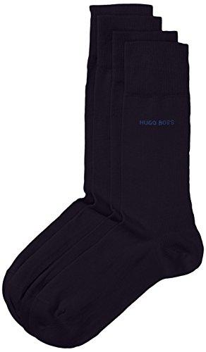 BOSS Herren Socken Twopack RS Uni 10112280 01 2er Pack, Blau (Dark Blue 401) 39/42 -