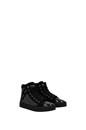 HXC1410P50055OB999 Hogan Sneakers Kind Wildleder Schwarz Schwarz