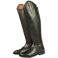 Hkm Italy Lang/Schmale Weite Botas de Equitación, Hombre, Marrón, 38 EU