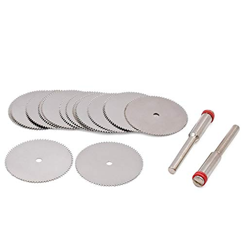 Leoboone 25mm Rotary Tools Trennscheibe Für Schleifmaschinen Edelstahl Verstärkte Trennscheibe Geschnittene Schleifscheibe Pleuel (Trennscheibe Verstärkte Dremel)