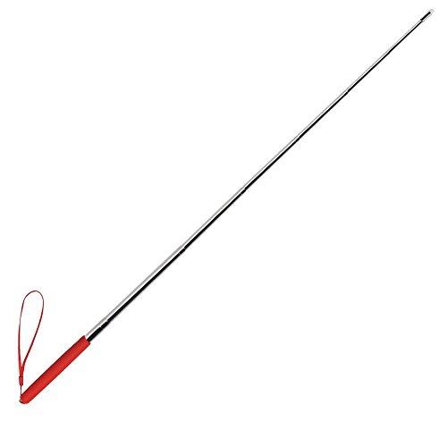 Teleskop-Einziehbarer Unterricht Zeiger Stift Handheld-Moderator Klassenzimmer Whiteboard Zeiger, Rot (Fallen Klassenzimmer Dekorationen)