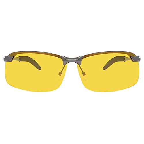 Vaycally Laufsonnenbrille für Männer und Frauen - Sportbrillen - UV-Schutzbrille - Zubehörpaket - ideal zum Joggen, Radfahren und Sport , 1 x polarisierte Sonnenbrille (MIT Box)