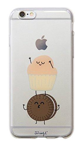 Mr Wonderful MRCAR031 - Carcasa funda para Apple iPhone 6 Plus, transparente