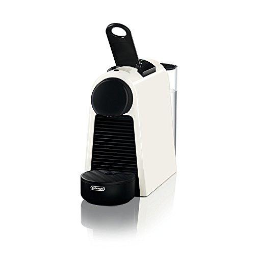 Mini-espresso-kaffeemaschine (De'Longhi Nespresso Essenza Mini | EN 85.W Kaffeekapselmaschine | Gratis Welcome Set mit Kapseln in unterschiedlichen Geschmacksrichtungen | 19 bar Pumpendruck | Platzsparend | Weiß)