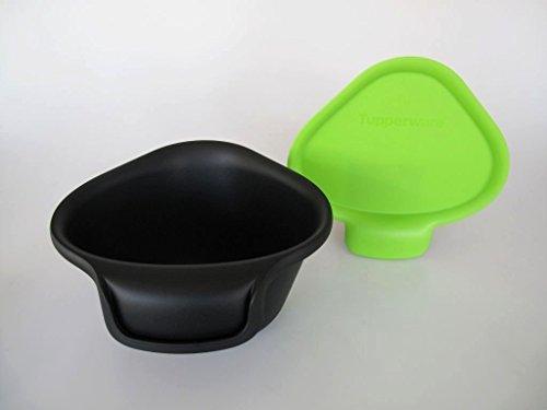 TUPPERWARE Küchenhelfer Tischmüll Adretto 2,5 L schwarz-grün Bio Alles in Reinen 6989