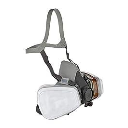 3M 6002C 6002-C Maschera Protettiva, Bianco