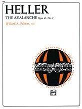 The Avalanche, Op. 45, No. 2 - SHEET par  Alfred Music Publications