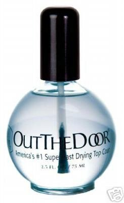 INM Out-the-Door #1 Super Fast Drying Topcoat 4oz by Base & Top Coat