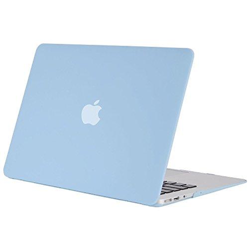 MOSISO MacBook Air 13 Hülle - Ultra Slim Hochwertige Plastik Hartschale Tasche Schutzhülle Snap Case für MacBook Air 13 Zoll (A1466 / A1369), Air Blau (Macbook Air Case Blau)
