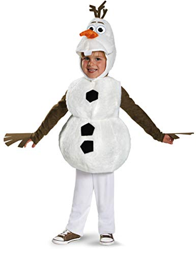 Frozen Disney Deluxe Olaf Child Toddler Costume 3T-4T