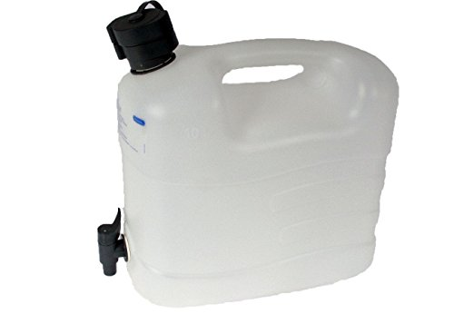 Holländischer Wasser Kanister 20L Kunststoff weiß