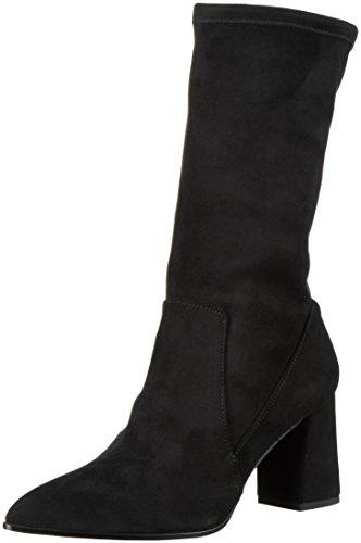 Paco GilP3128 - Stivali a metà polpaccio con imbottitura leggera Donna, Nero (Nero (nero)), 39