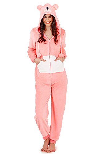 Bernie The Bear Onesie – Jumpsuit Damen mit Ohren - 2