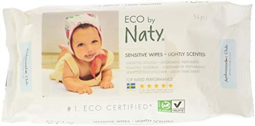 NATY Lingettes écologiques parfumées - 56 pcs