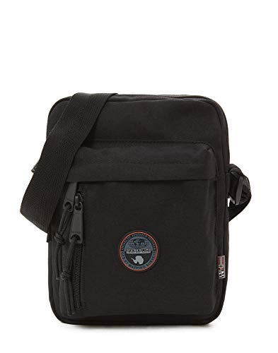 Napapijri Hoyal Cross Umhängetasche, 24 cm, 9 L, Black (Messenger Bag Cross-strap)