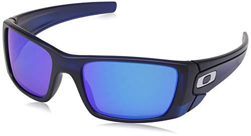 Ray-Ban Herren 0OO9096 Sonnenbrille, Schwarz (Matte Translucent Blue), 60