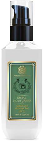 Forest Essentials Hydrating Facial Moisturiser Sandalwood & Orange Peel 1