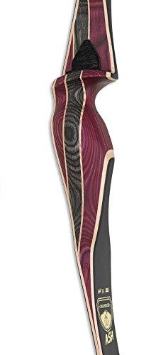 Hybrid-Bogen Oak Ridge aus Dymon- und Ahorn-Holz, rechtshand, 30 Ibs -