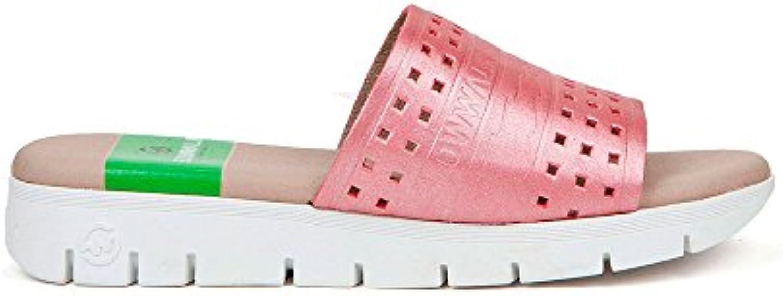 Sneaker Zapatilla Mujer Sanvi-W Kermit Fresa Slowwalk