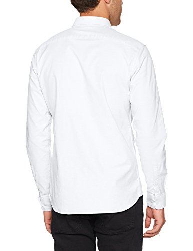 SELECTED HOMME Herren Businesshemd Shdonevictor Shirt Ls Noos Weiß (Bright White)