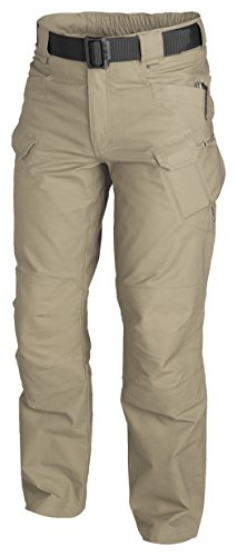 URBAN TACTICAL PANTS¨ - PolyCotton Canvas - Khaki (Wide Leg Hose Cuff)