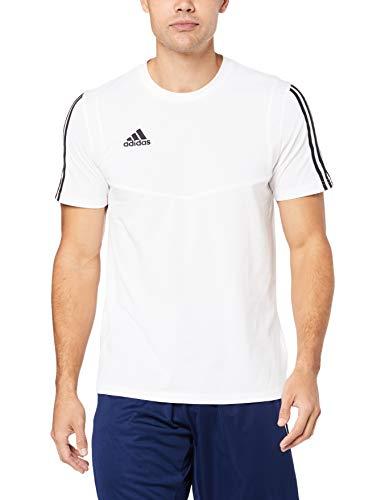 adidas Tiro 19, Maglietta Uomo, Bianco (White/Black), XL