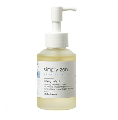 Simply zen relaxing body oil 100 ml olio nutriente e rilassante per il corpo 100ml