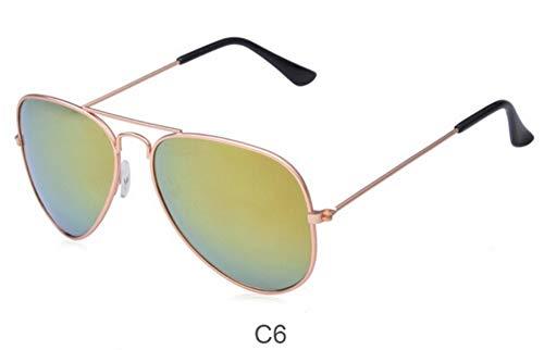 Sonnenbrille,Neue Polarisierte Sonnenbrillen Männer Und Frauen Metallrahmen Retro Sonnenbrille Ovale Form Colorfilm Jurte Polarisator Gläser Rose Golden Green