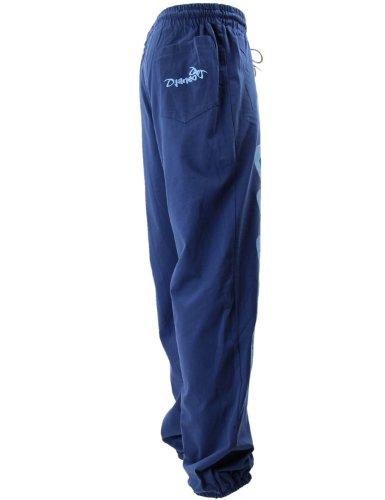 Pantalon Jogging Djaneo Rio Coton. Homme et Femme (plus de 30 couleurs disponible) Marine et Ciel