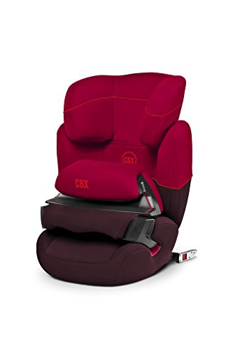 Preisvergleich Produktbild CBX by CYBEX Aura-fix, Autositz Gruppe 1/2/3 (9-36 kg), Kollektion 2015, Rumba Red
