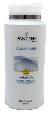 Pantene Pro-V Classic Care Shampoo 25.4 oz (Pack of 3) by Pantene