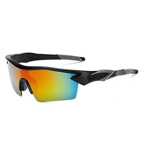 Yuqianqian Polarisierte Sportbrille Sonnenbrille Fahrradbrill Outdoor männlich polarisierte Sport Sonnenbrillen reflektierende Sonnenbrillen Radfahren Brille Sonnenbrillen Outdoor Sports