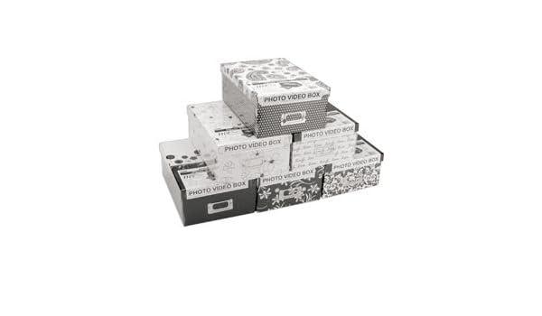 "Pioneer Photo Storage Box-4.5/""X8/""X11.5/"" Assorted Designs"